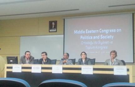 "Yasin Atlıoğlu: ""The Societal Roots of Identity-Based Conflict in Syria"", Middle Eastern Congress on Politics and Society, 9-11 October 2012, Sakarya University"