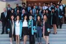 N.Ü. Siyaset Bilimi ve Uluslararası İlişkiler Bölümü'nün ilk mezunlarıyla (1 Temmuz 2015)