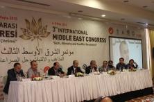 TASAM 3. Uluslararası Orta Doğu Kongresi (6-8 Mayıs 2015- Hatay)