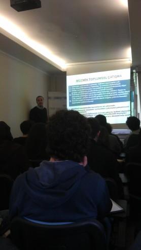 İstanbul Fikir Araştırmaları Merkezi (İSFAM) Ortadoğu Okulu, Lübnan Oturumu (7 Mart 2015 Cumartesi)