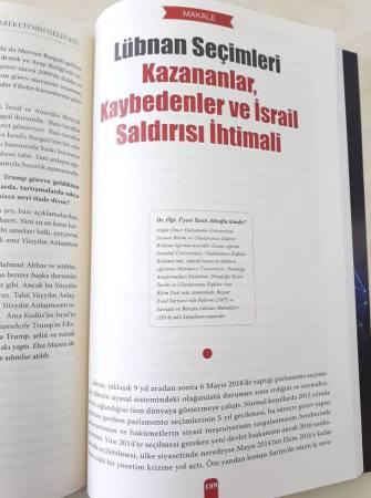 Lübnan Seçimleri Bilimevi Dış Politika Dergisi (2018)